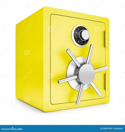Security gold safe stock illustration. Image of symbol - 34901992