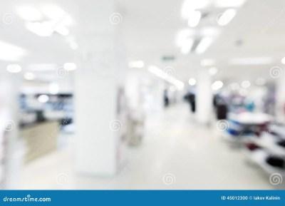 Store Blur Background Stock Photo - Image: 45012300