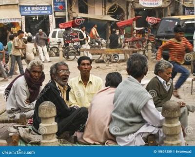 Street Life In New Delhi, Pahar Ganj Editorial Image ...