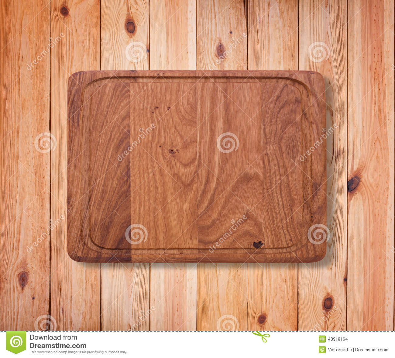 wood texture wooden kitchen cutting board close up empty table white background product montage product page 43918164