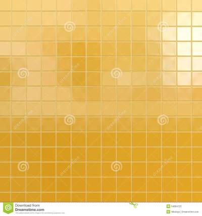 Yellow tiles background stock image. Image of pattern - 54894723