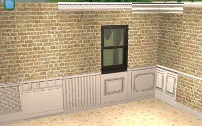 Mod The Sims - Wallpaper Overlays: the INside Edition -plus- a Maxis Wall Hider file