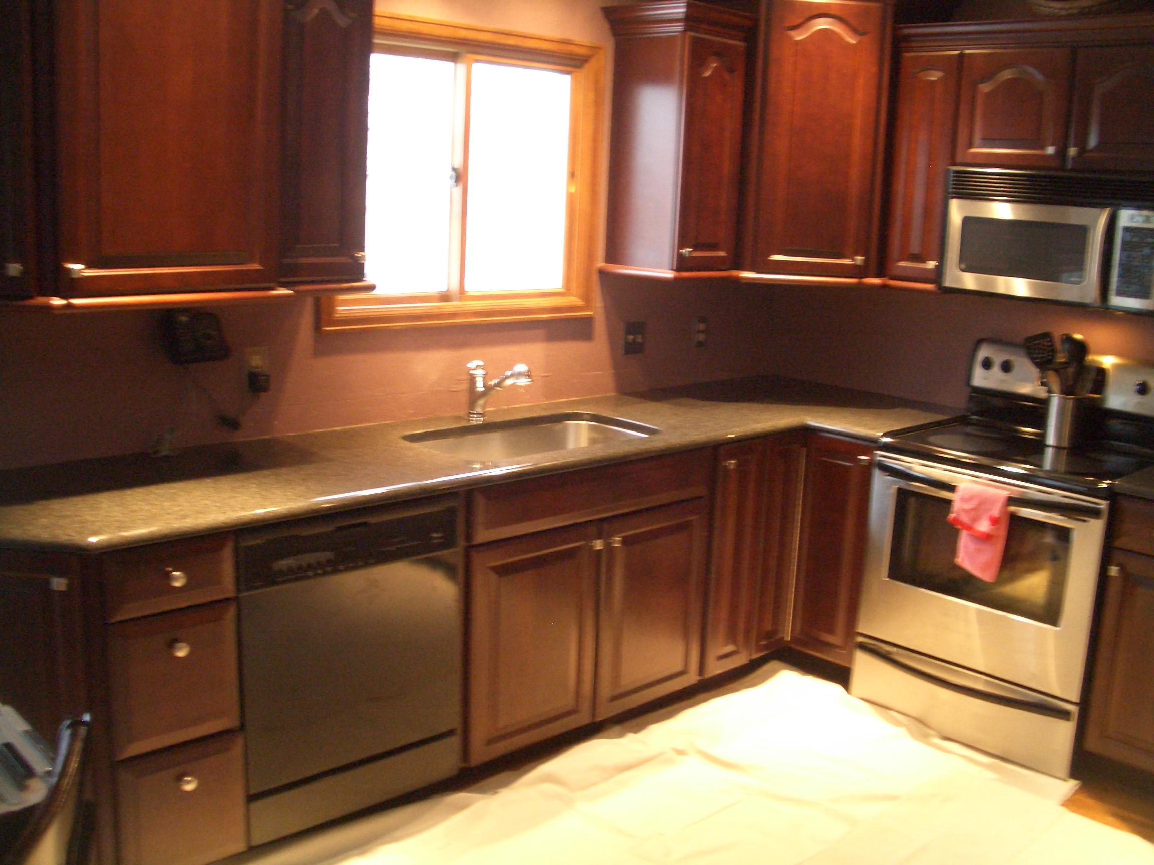 glass tile kitchen backsplash in fort collins backsplash kitchen tile Glass tile backsplash before