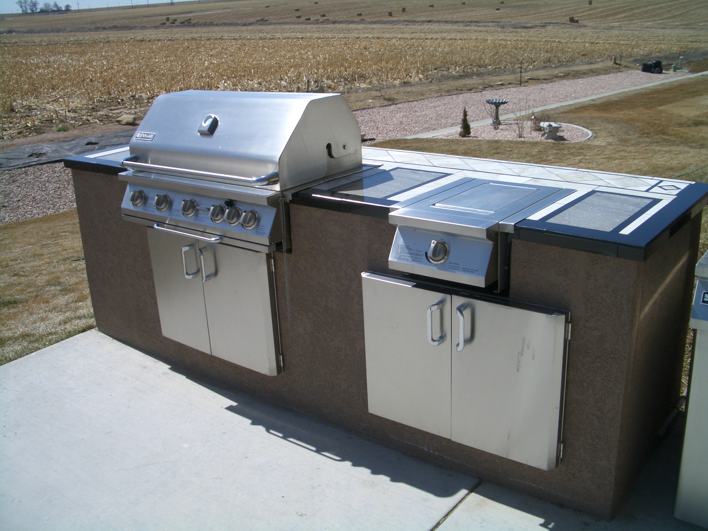 outdoor kitchens bbq islands outdoor kitchen island Backyard BBQ islands and outdoor kitchens in Fort Collins and Northern Colorado