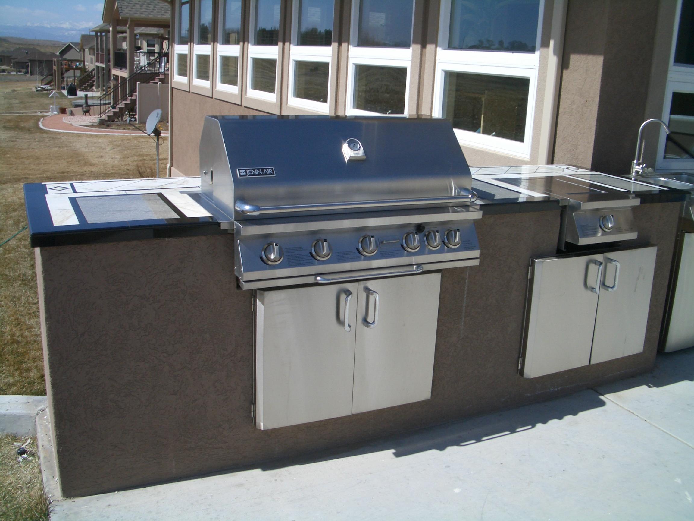 outdoor kitchens bbq islands outdoor kitchen island Outdoor Kitchens and BBQ Islands in Fort Collins Loveland Greeley Northern Colorado
