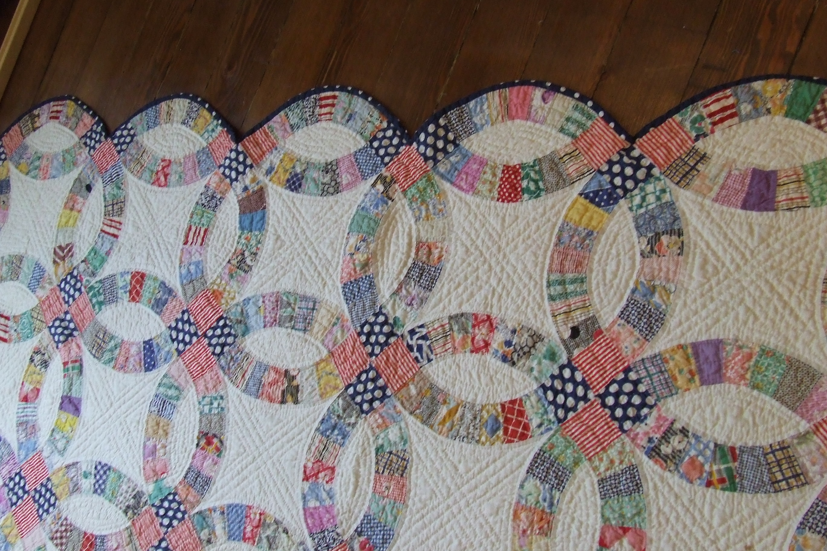 wedding ring quilt for sale wedding ring quilt wedding ring quilt for sale