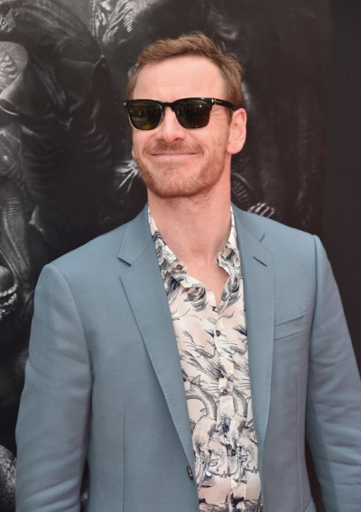 Your Daily Fassy: Michael Fassbender at Sir Ridley Scott's Hand and Footprint Ceremony   Tom ...
