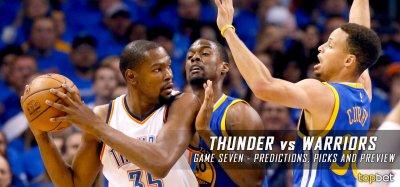 Thunder vs Warriors Series Game 7 Predictions, Picks, Odds