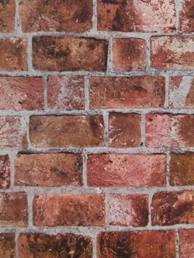 HE1044 Textured Brick Wallpaper