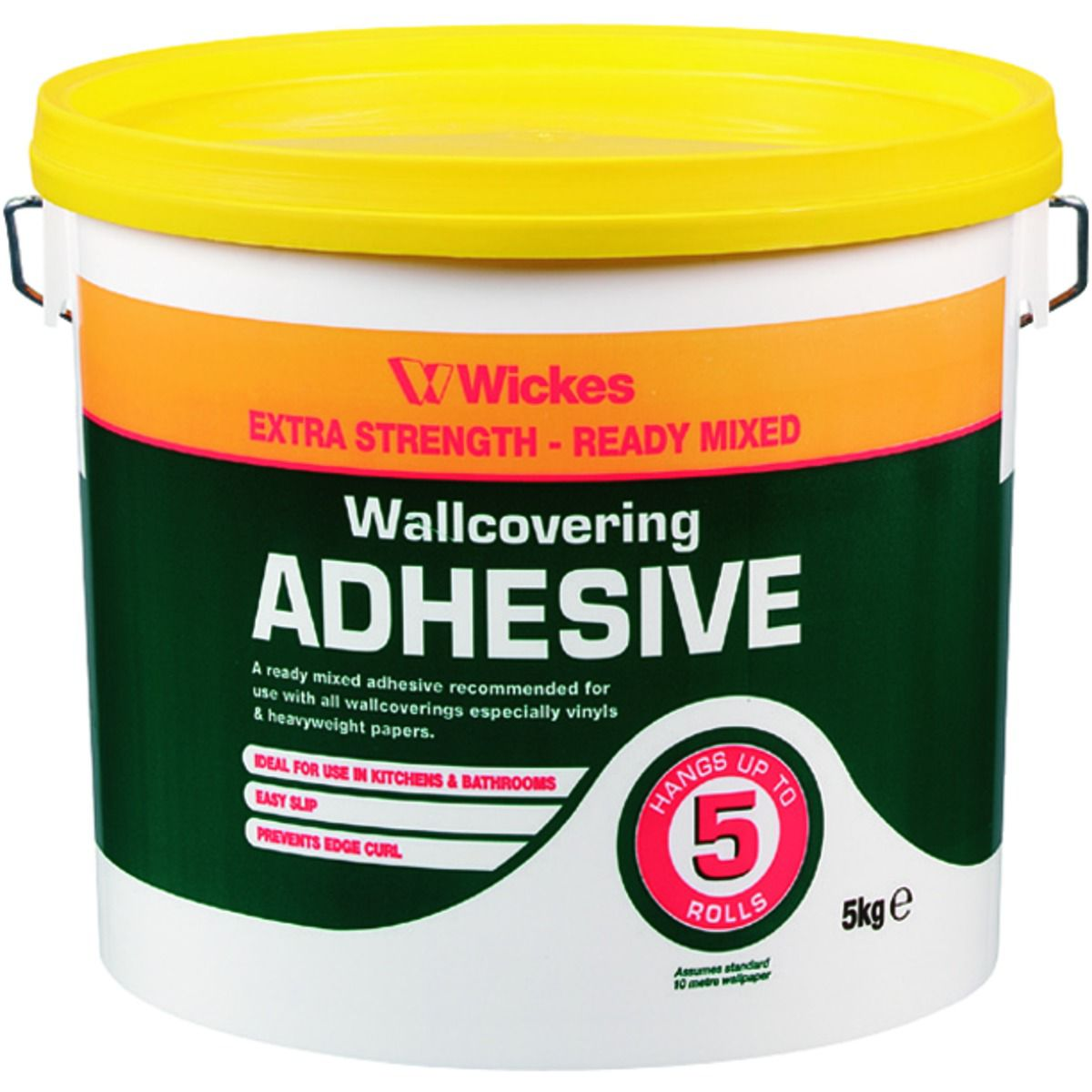 Ready Mixed Wallpaper Adhesive 5kg | Wickes.co.uk