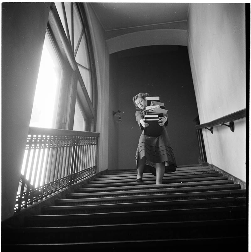 Stanley Kubrick's Photos of New York Life in the 40s ...