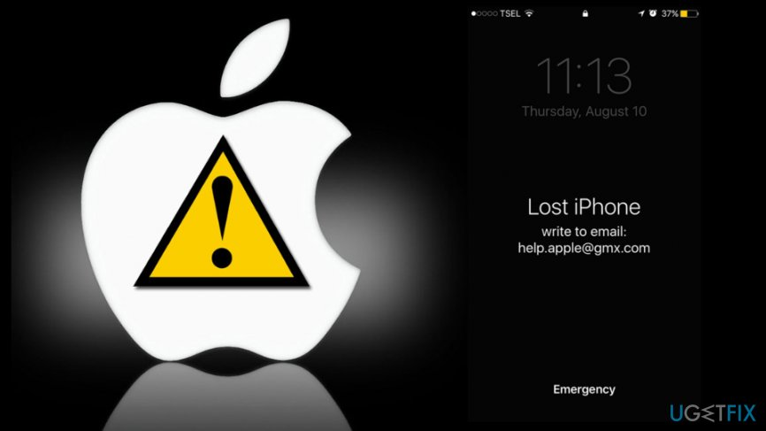 How to unlock Apple device after Help apple gmx com ransomware attack  How to unlock Apple device after Help apple gmx com ransomware attack