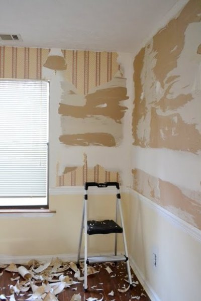 Painting Prep after Drywall Repair • Ugly Duckling House