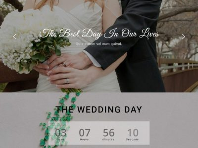 20 Elegant Free HTML Bootstrap Wedding Websites For Your ...