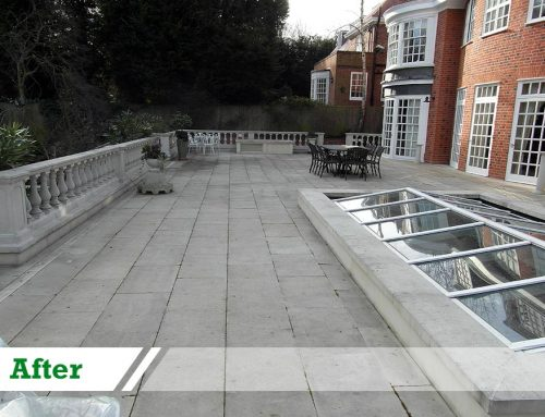 DOFF stone cleaning