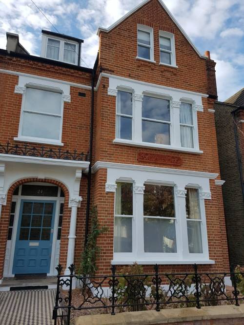 brick cleaning and pointing in Heron Rd in Balham
