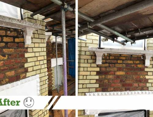 Brick cleaning – residential restoration