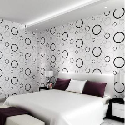 PVC Wallpapers | poly vinyl chloride interior wall papers for Bedrooms