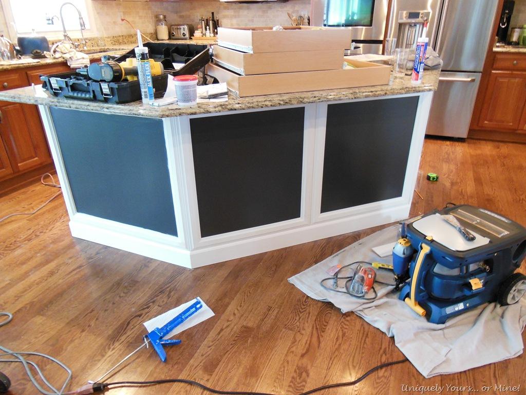 adding molding to kitchen island install kitchen island installing molding on kitchen island