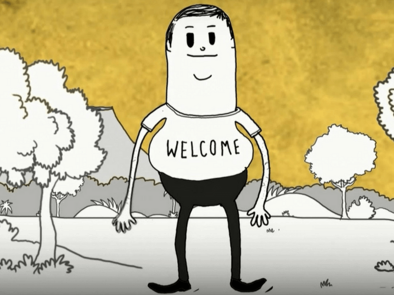Vídeo Man de Steve Cutts