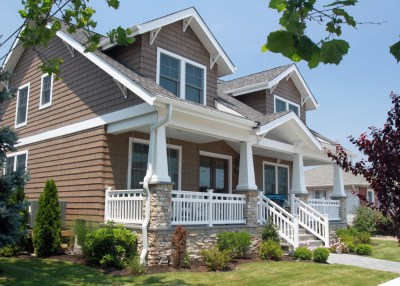Craftsman Style Homes with Front Porches Pictures ...