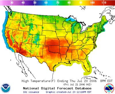 2006 North American heat wave - Wikipedia