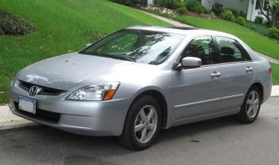 Honda cars: 2003 honda accord