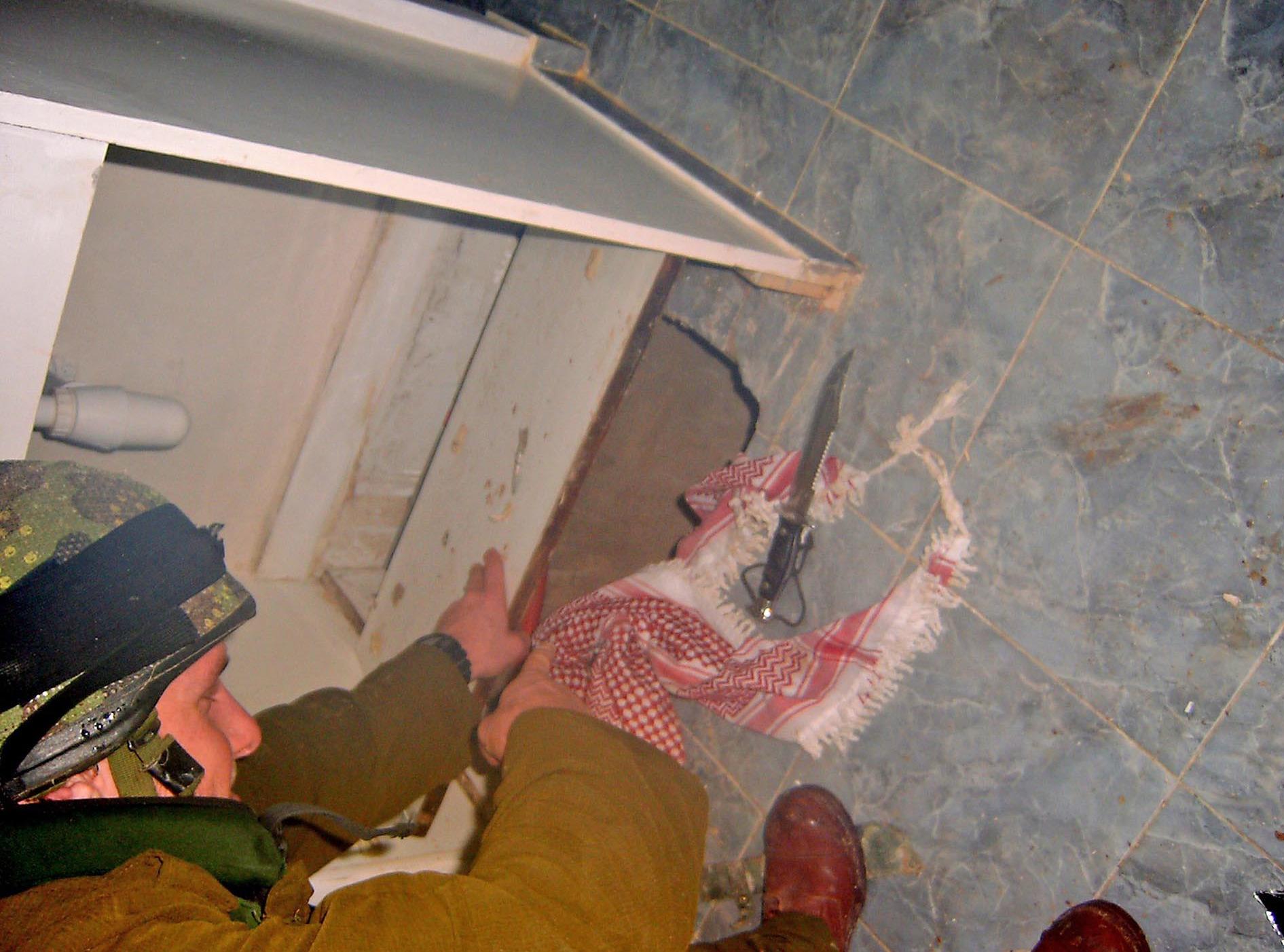 Flickr   Israel Defense Forces   Hamas Militant Hiding Under Kitchen Sink