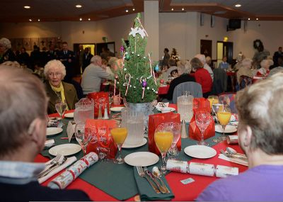 File:Attendees socialize during the Senior Citizens' Christmas Party at RAF Mildenhall, England ...