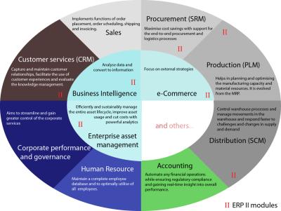 企業資源計劃 - 維基百科,自由的百科全書