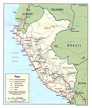 Geography of Peru - Wikipedia