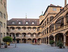 Stuttgart   Wikipedia Courtyard of the Old Castle  Stuttgart s