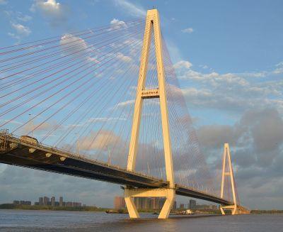 Baishazhou Yangtze River Bridge - Wikipedia