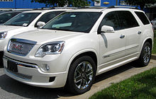 GMC Acadia   Wikipedia First generation 2011 GMC Acadia Denali