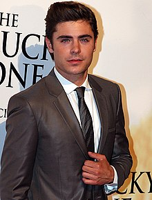 Zac Efron   Wikipedia Efron in 2012