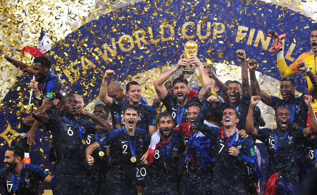 2018 FIFA World Cup Final   Wikipedia