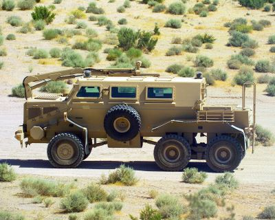 Buffalo (mine protected vehicle) - Wikipedia