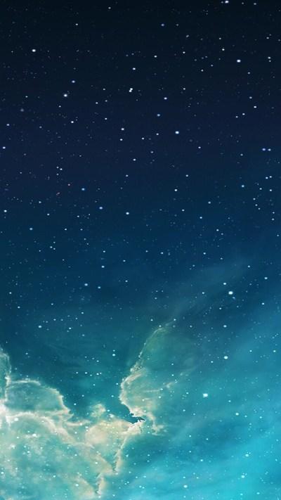 How can I restore my iPad lock screen's original starry night sky wallpaper? - iPhone, iPad ...