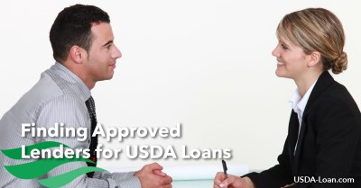 Finding Approved Lenders for USDA Loans - USDA Loan