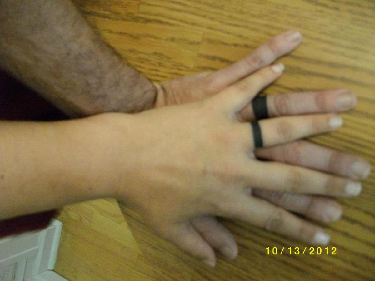 10 Great Wedding Ring Tattoo Ideas wedding ring ideas