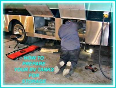 The Best Way to Prep Your RV Tanks for Storage | AxleAddict
