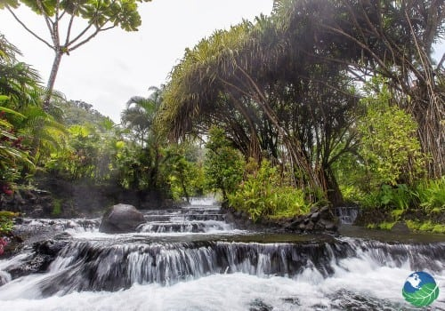 Tabacon Hot Springs Natural River