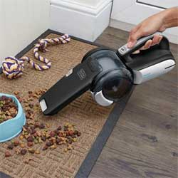 Using The Black & Decker Handheld Vacuum