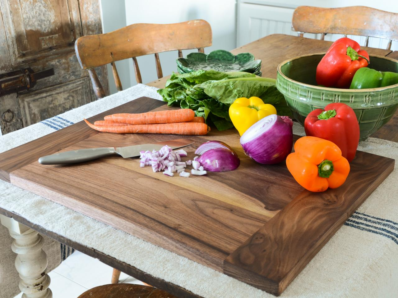 best wood cutting board kitchen cutting table