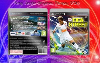 FIFA Street PlayStation 3 Box Art Cover by kingjordzzgraphics85