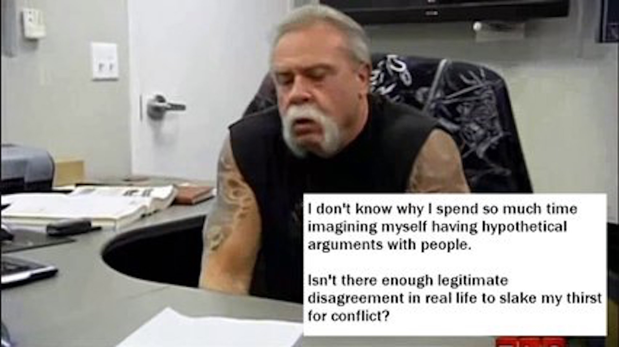 The Angry American Chopper Argument Meme Has Gone Meta   VICE Image via  TheStuffOfMemes