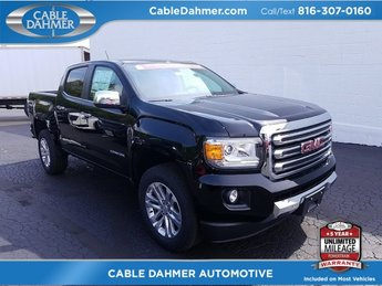 Cable Dahmer Buick GMC Dealer in Kansas City  MO 2018 GMC Canyon 4WD SLT Automatic 4 Door 4X4 V6 Engine Truck