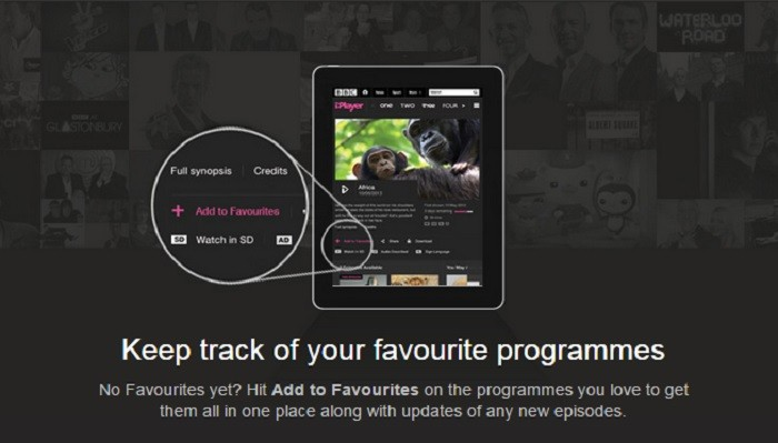 Favourites  How BBC iPlayer is becoming more like Netflix   VODzilla co Favourites  How BBC iPlayer is becoming more like Netflix