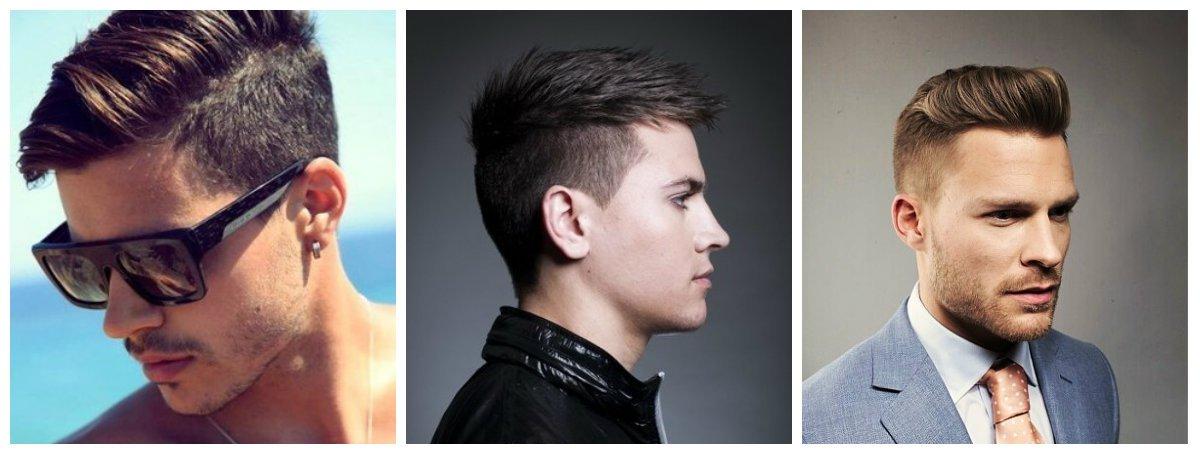 Как называется причёска когда по бокам сбрито мужская