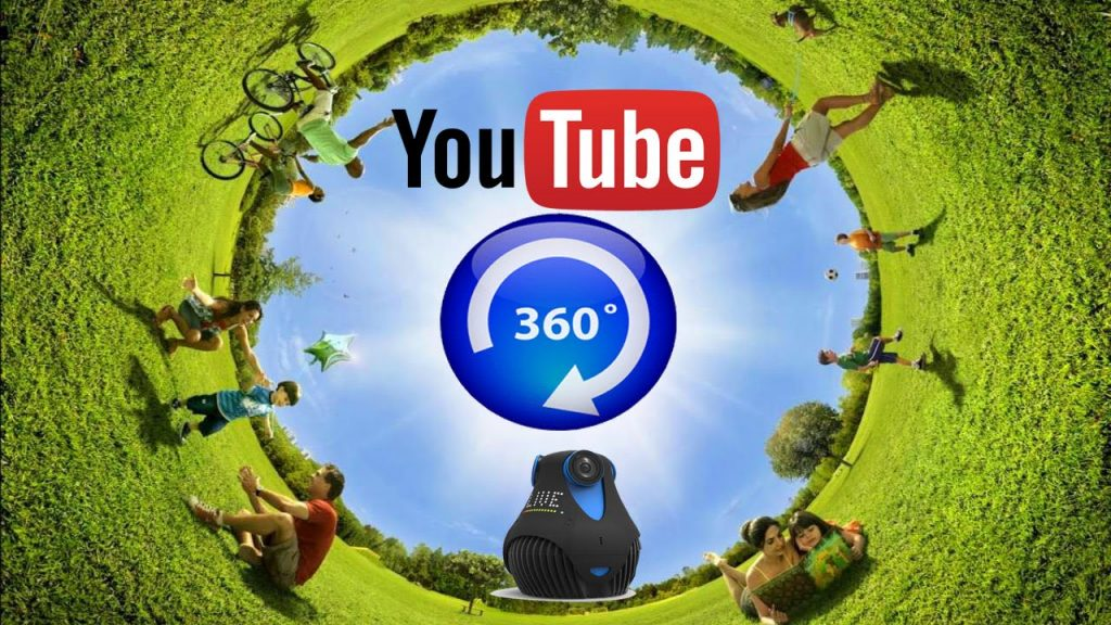 Youtube 360 degree videos